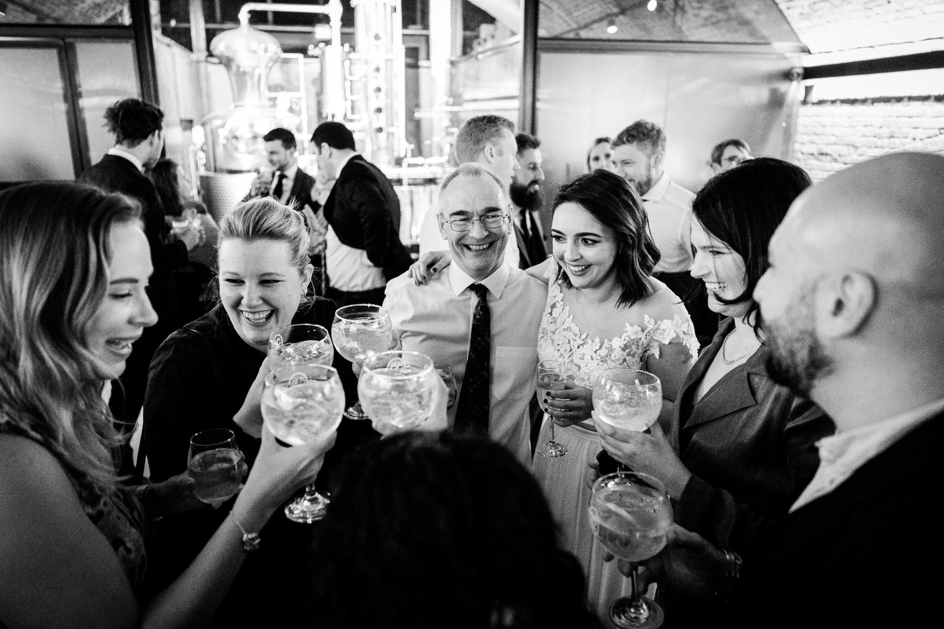 58 Gin Distillery Wedding Photography